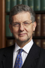 Lord Patrick Hodge. UK deputy president of the Supreme Court.