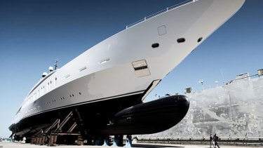 "Measuring a hefty 108 metres in length, the giant new ""tinnie"" will be hard to miss."