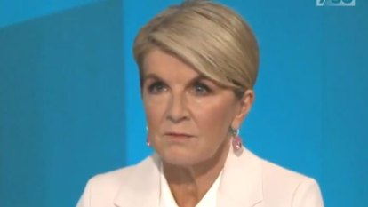 Julie Bishop backs inquest into Porter case, says Reynolds had duty to tell police about alleged rape
