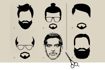 A newly bearded man will often explain it by saying they got sick of shaving. But not everyone can look like George Clooney.