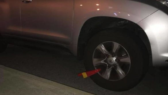 Wheel clampers ruin Scarborough's Christmas spirit