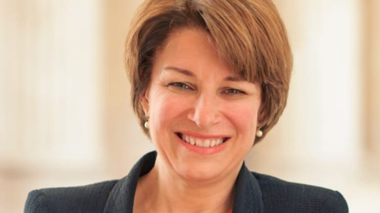 Minnesota senator Amy Klobuchar is being discussed as a potential 2020 Democratic presidential nominee