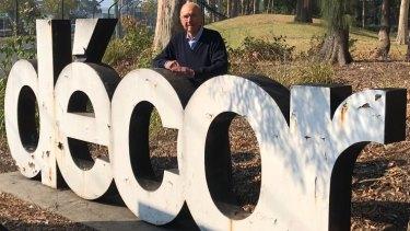 Decor founder Brian Davis.