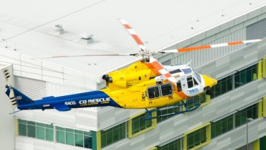 The RACQ CQ Rescue helicopter flew more than 800 kilometres in six hours to give the boy the best chance of survival.