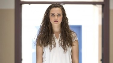 Australian actress Katherine Langford as Hannah Baker in 13 Reasons Why season one.
