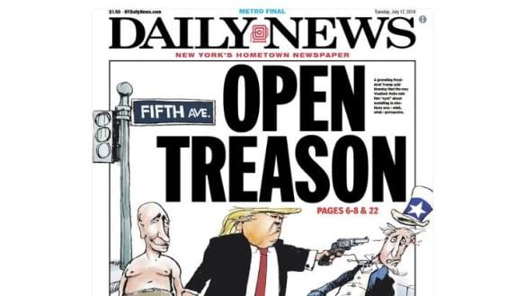 'Open Treason': Trump slammed by media, everywhere but Russia