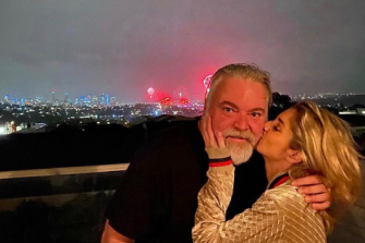 New year, new love for Kyle Sandilands and Tegan Kynaston.