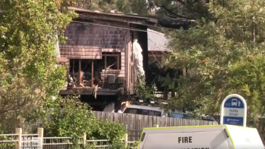 Investigations into the cause of the fire are ongoing.