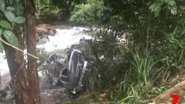 The crash at Tully in north Queensland claimed the lives of four young men.