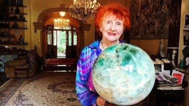Sydney's Queen Mother of Crystals, Gayl Rich.