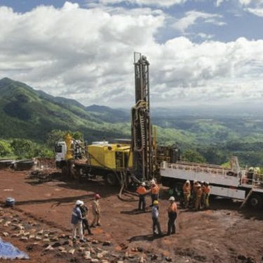 The iron ore in Guinea's Simandou mountains is of very high quality.