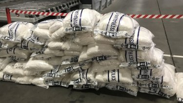 Taskforce Blaze was crucial to the seizure of 1.3 tonnes of ephedrine in Melbourne this year.
