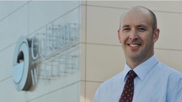 Former Goulburn-Murray Water boss Gavin Hanlon.