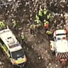 'Desperate situation': Man dies after being trapped under tonnes of landfill in Sydney