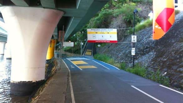 Part of popular Brisbane bikeway closed for 12 months