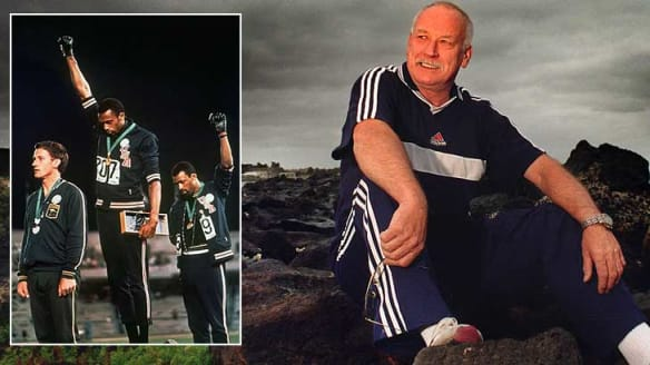 Olympian Peter Norman given top gong for role in 'Black Power Salute'