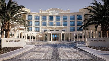 The Palazzo Versace on Main Beach, Gold Coast.
