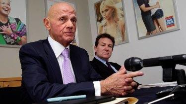 Premier Investments Solomon Lew and Mark McInnes.