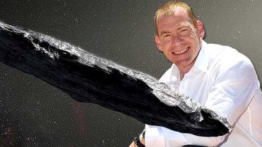 Curtin University professor Steve Tingay said  'Oumuamua excited the scientific community.