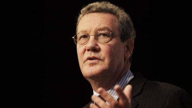Outgoing High Commissioner to the UK, Alexander Downer, will serve at least another month.
