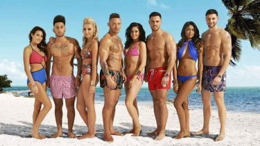 The cast of Ex on the Beach, now on Stan.