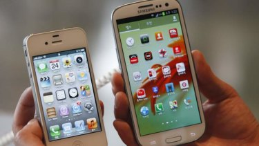 In its early iterations, the Galaxy S was bigger and more powerful than Apple's phones.