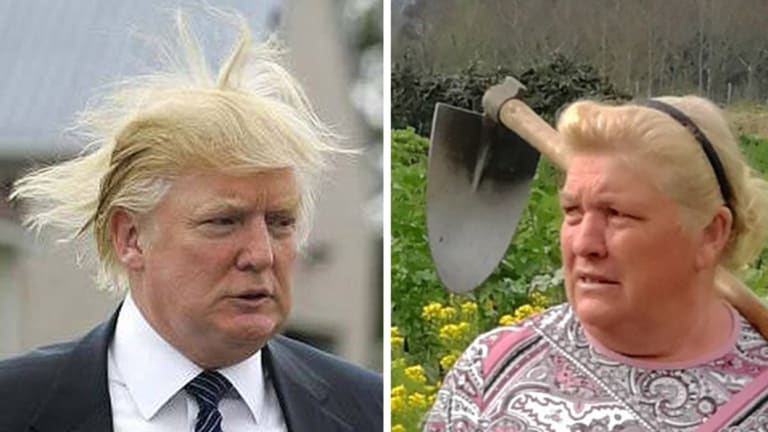 trump lookalike dedicated to crops more than twitter