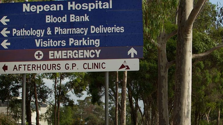 Nepean Hospital's ED has been under immense pressure from rising numbers of Triage 2 and 3 patients.