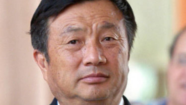 Huawei founder Ren Zhengfei was previously a major in the Chinese army.