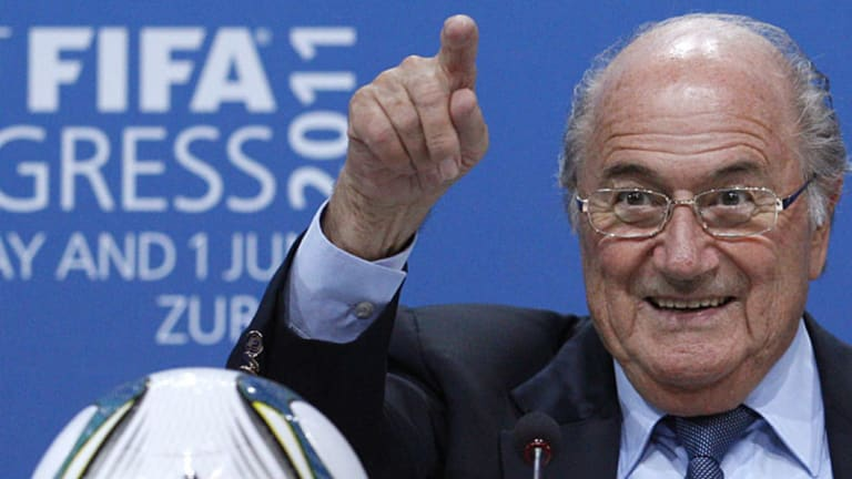 Clean-up: File photo of former FIFA president Sepp Blatter.