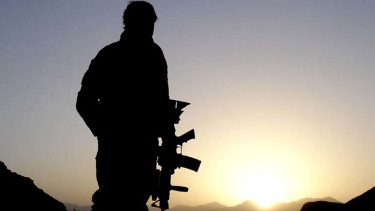 An Australian Special Operations Task Group soldierin Afghanistan in 2010.