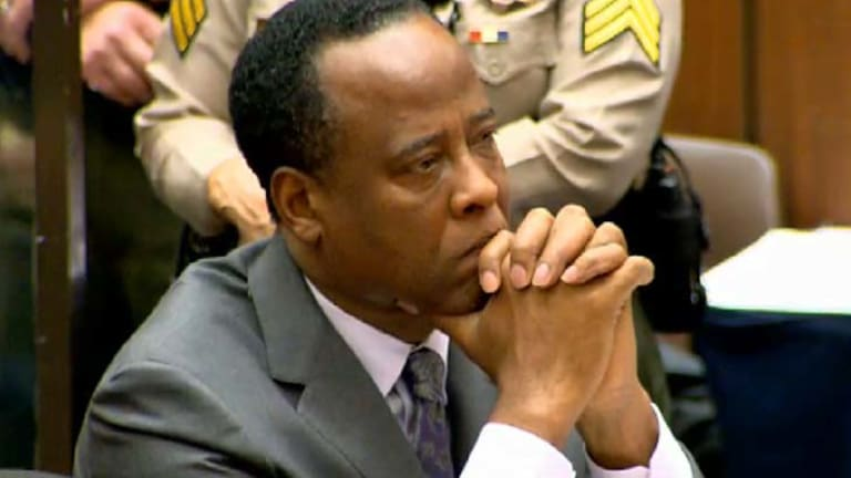 Jackson's doctor Conrad Murray at trial in 2009.