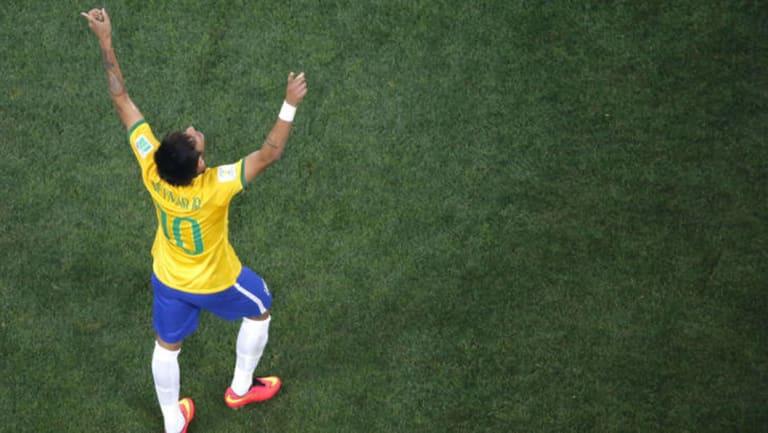 Man of the hour: Neymar.