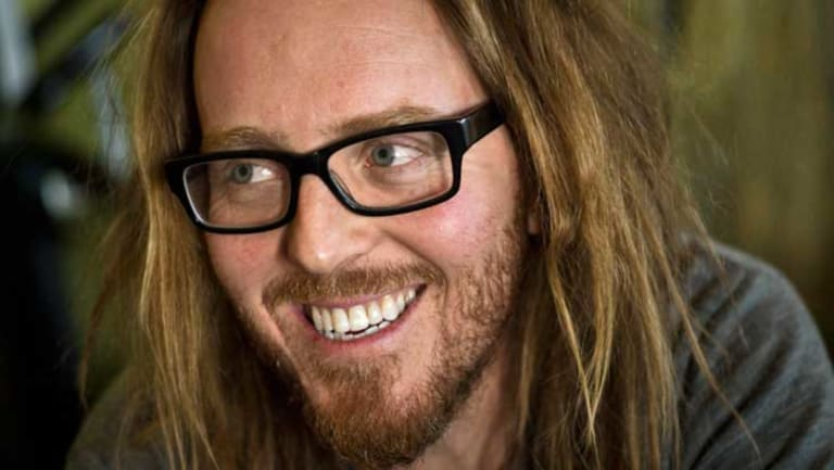 Tim Minchin's Canberra show will be on Friday, March 15.