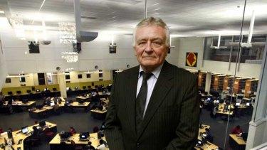Former Holmesglen director Bruce Mackenzie says TAFE is underfunded.