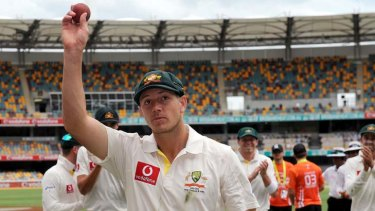Pace like fire: James Pattinson during his first international summer.