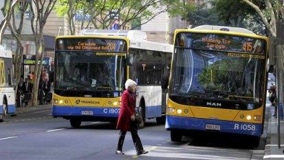 Buses delayed, Pacific Motorway clogged after Brisbane CBD crash