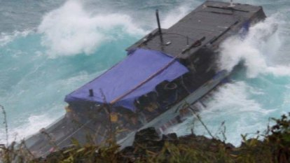 PM attempts to rescue his sinking boat with a sea of fear