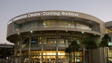 The old Darling Harbour Convention Centre.