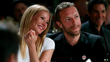 Gwyneth Paltrow and Chris Martin.