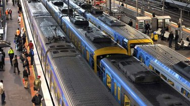 Melbourne's trains will grind to a halt for four hours on August 27.