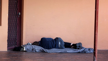 Entrenched disadvantage can lead to homelessness.