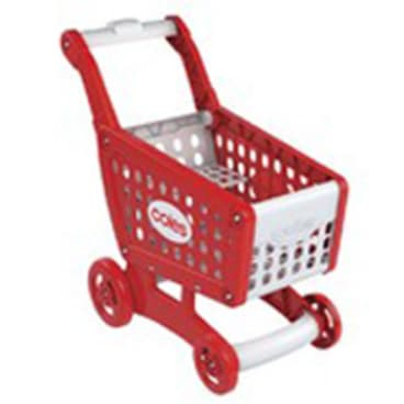 Furious consumers have attacked Coles for giving away toy plastic replicas of grocery products.