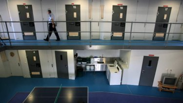 Inside Barwon Prison.