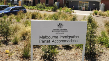 The Immigration Transit Accommodation Centre in Broadmeadows.