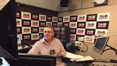 2GB host Ray Hadley is a strong supporter of Peter Dutton.