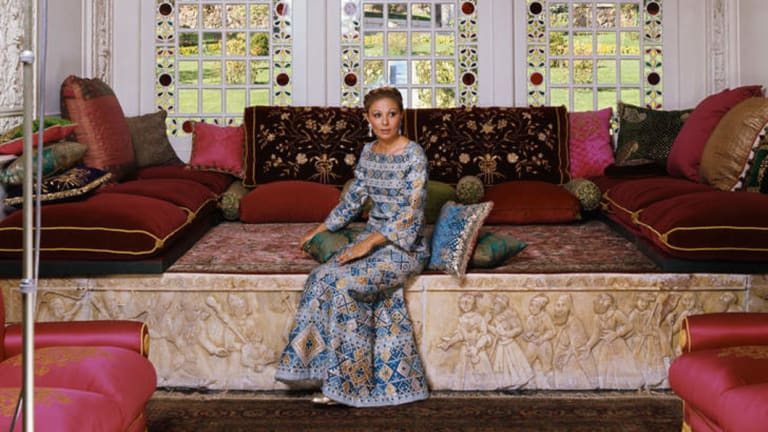 "Farah Pahlavi, Iran's first and last Empress, in the late 1970s. ""When you leave your land, your love, your belongings, it's very sad,"" she reflects now."