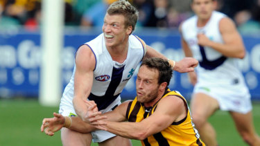 Palmer, a former Docker, returned to WA to play for Swan Districts in the WAFL.