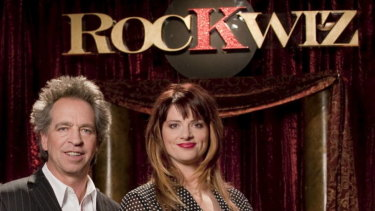 Brian Nankervis and Julia Zemiro starred in SBS music show, RockWiz.