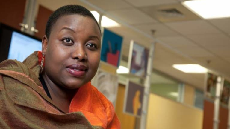 Zimbabwean journalist Violet Gonda has returned to her country after decades of exile